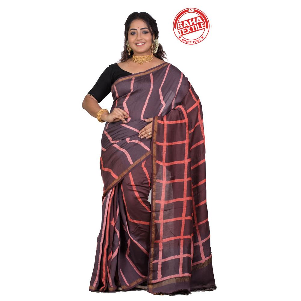 Aranya Chanderi Batik Saree-S7798