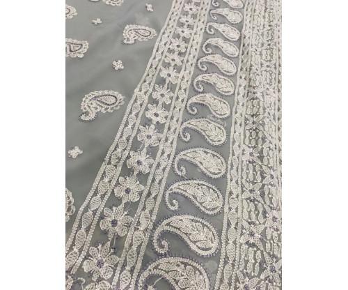 Lucknow Chikankari Saree-EP161-S7