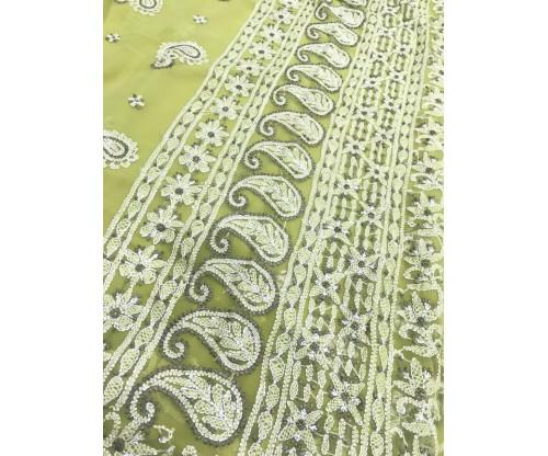 Lucknow Chikankari Saree-EP161-S8