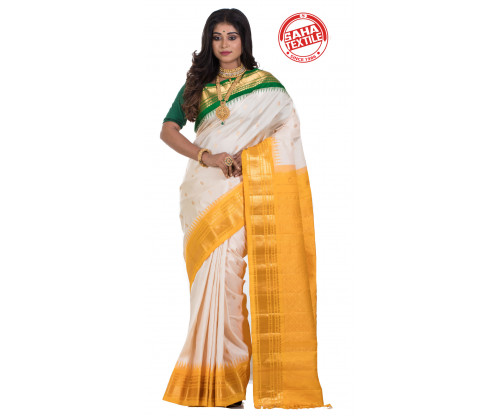 Exclusive Line Pure Silk Gadwal Saree-S7916