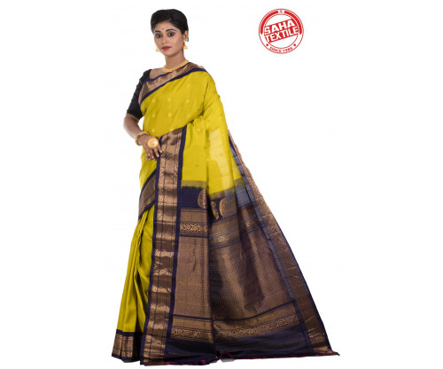 Exclusive Line Pure Silk Gadwal Saree-S7928