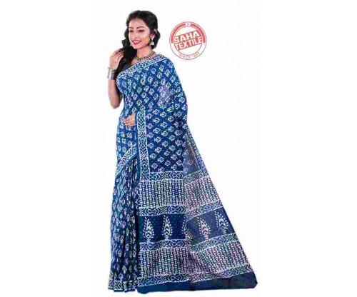 bf05095ed Aranya Printed Soft Cotton Saree-S5020