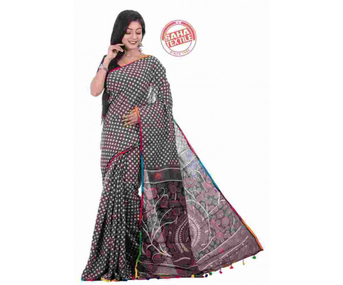 71c1465590 Aranya Printed Soft Cotton Saree-S6120