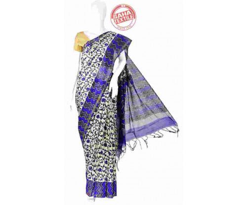 Aranya Chanderi Printed Saree- S625