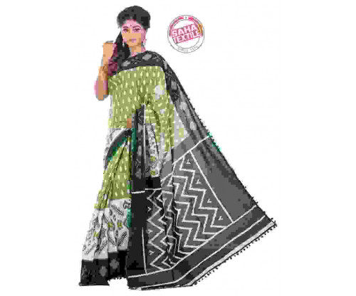 Aranya Printed Soft Cotton Saree-S7482