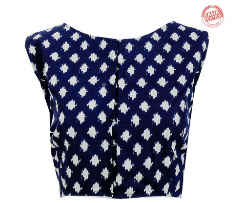 Cotton Printed Blouse-BL164