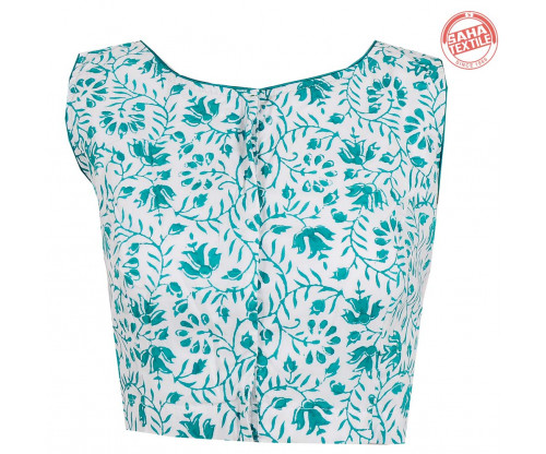 Cotton Printed Blouse-BL169