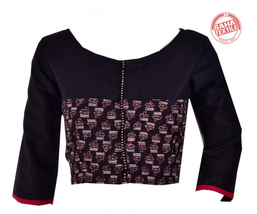 Cotton Printed Blouse-BL173