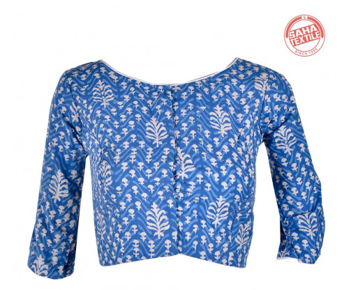 Cotton Printed Blouse-BL175