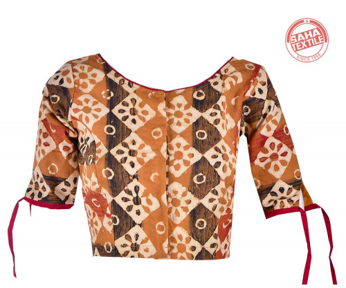 Cotton Printed Blouse-BL177