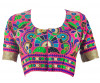 Designer Gujarati Embroidered Blouse - BL40