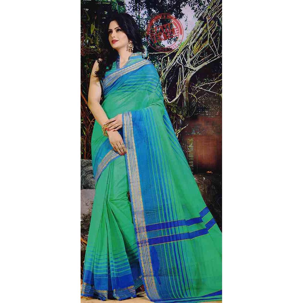 Designer pure cotton saree s1257 for Designer com