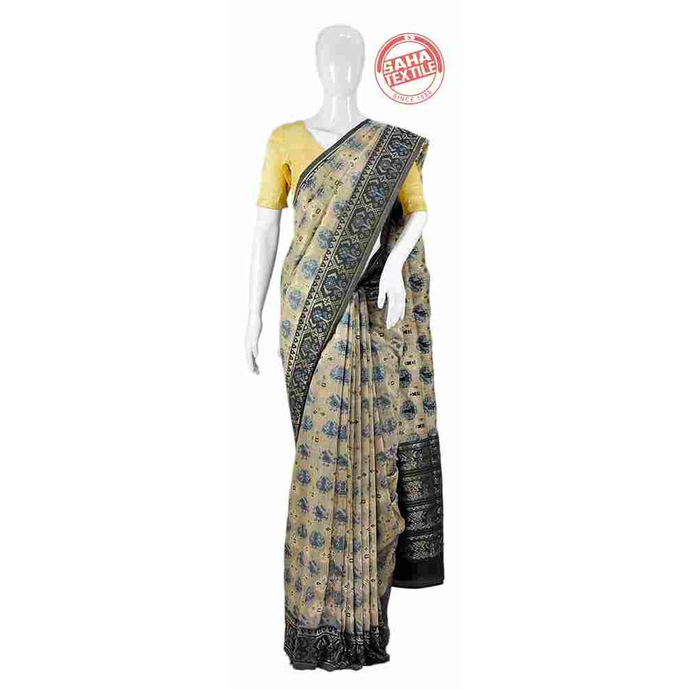 Designer Matkha Saree-S1942