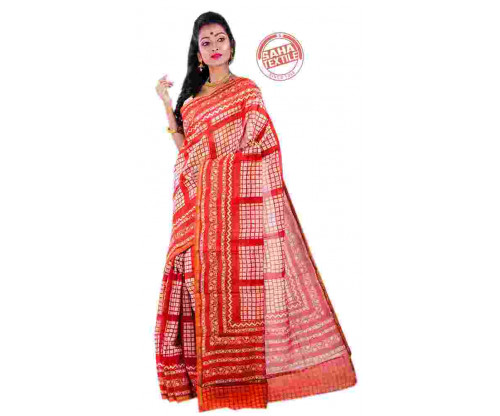 Aranya Chanderi Printed Saree- S4975