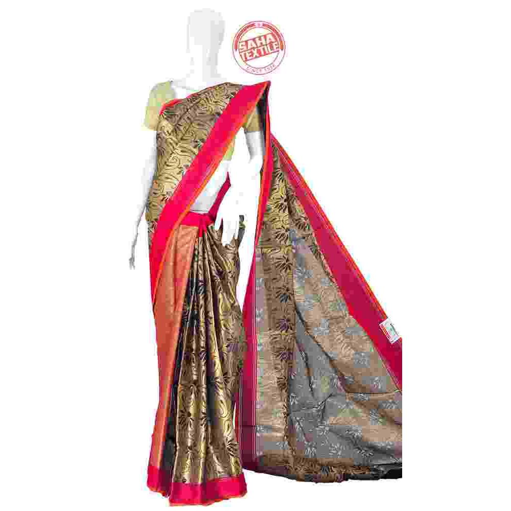 e7e59972929 Designer Maheshwari Chanderi Silk Saree - S565