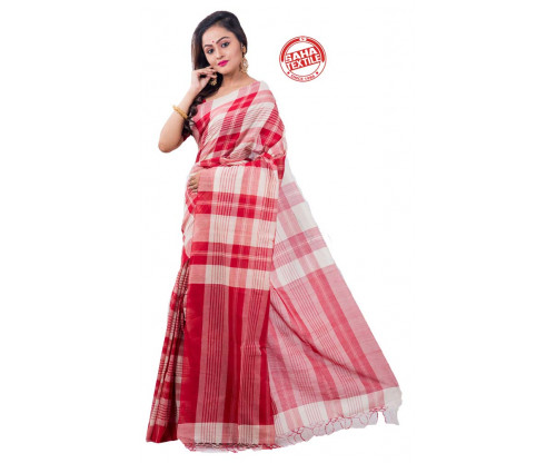 Desh Handloom Cotton Saree-S4245