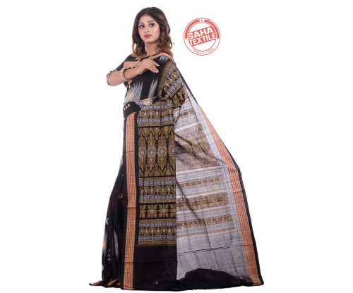 Kutir Silpa Pure Cotton Bomkai Saree-S6294