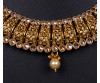 Advika Golden Designer Kundan And Polki Necklace Set-J4