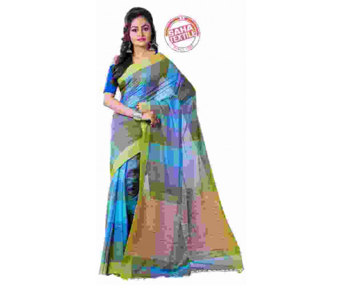 Rabi Handloom Cotton Saree-S4445