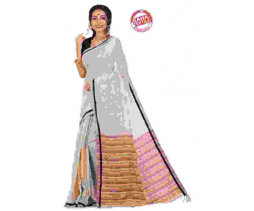 f52ac10c9a Rabi Pure Handloom Cotton Saree-S5749